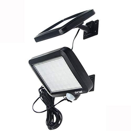 【高輝度】Shome 56LED ソーラーライト センサーライト 玄関ライト 防犯ライト 防水ライト 屋外照明/軒先/...