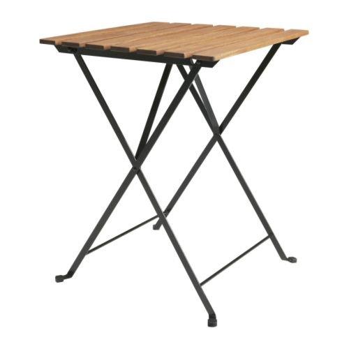 TARNO 折りたたみテーブル アカシア材 スチールの写真