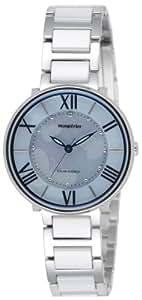 [リコー]RICOH ソーラー腕時計 モンペリエエミット アナログ表示 3気圧防水 日本製 ライトブルー 699003-21 レディース
