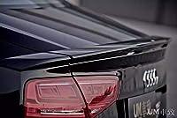 FRP素材 アウディ A8 S8 D4 トランクスポイラー エアロ ウイング 2010-2015y