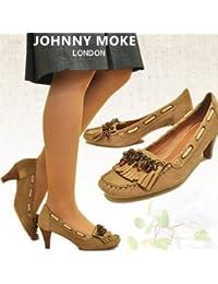 [ジョニーモーク] JOHNNY MOKE パンプス モカシンパンプス スエード