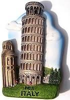 ハンドメイド3dアート樹脂マグネット斜塔、ピサ、イタリア