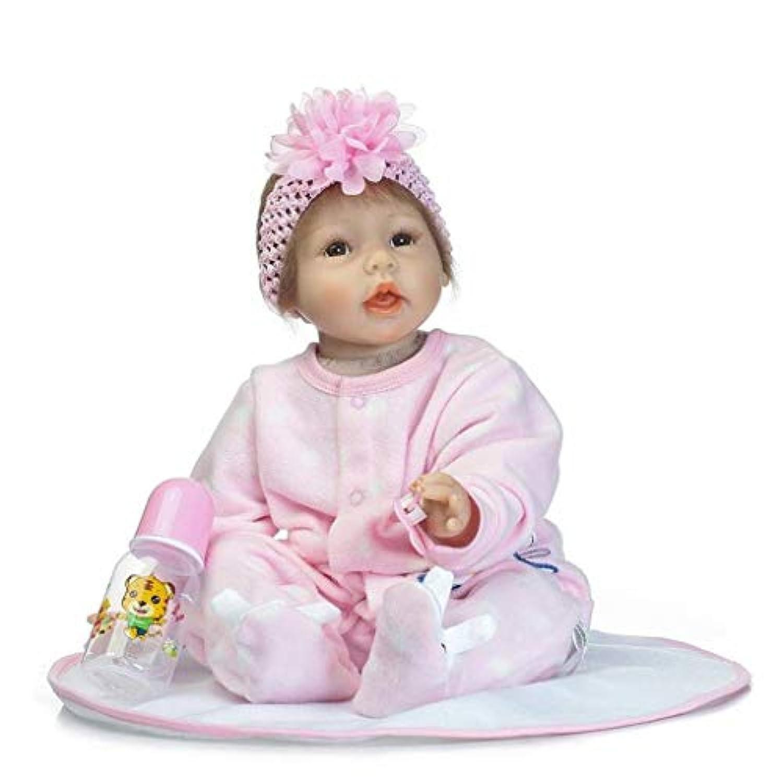Terabithia 22インチHandmade Lifelike Adorable Rebornベビーガール人形Look Real