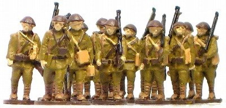 1/144AFV 人形キット 行軍日本兵1 Nゲージ