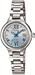 [カシオ]CASIO 腕時計 SHEEN Voyage Series 世界6局電波対応ソーラー SHW-1700D-2AJF レディース
