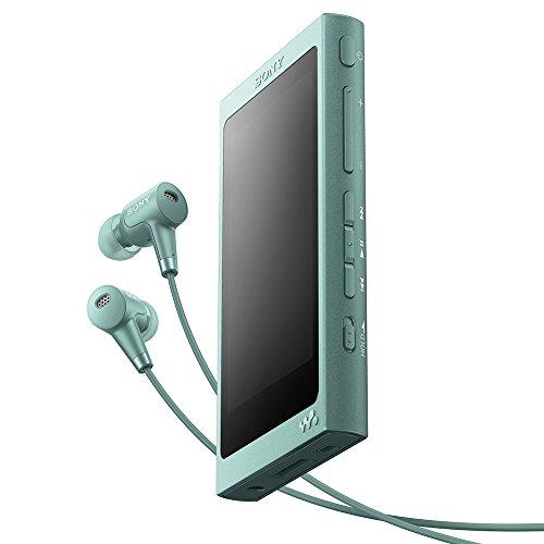 ソニー SONY ウォークマン Aシリーズ 16GB NW-A45HN : Bluetooth/microSD/ハイレゾ対応 最大39時間連続再生 ノイズキャンセリングイヤホン付属 2017年モデル ホライズングリーン NW-A45HN G