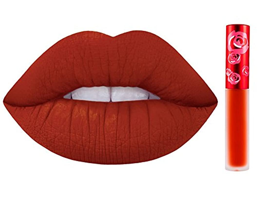 バンドルスポークスマン恨みLime Crime Velvetines Long Lasting Liquid Matte Lipstick (Pumpkin)