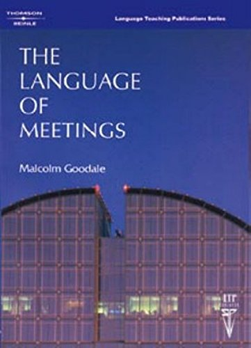 Language of Meetings, The Text (128 pp)の詳細を見る