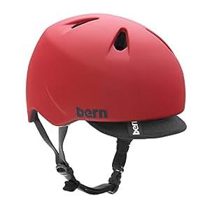 bern (バーン)ヘルメット [ NINO ]オールシーズン・キッズタイプ Matte Red XS-S (2014/15モデル)日本正規品