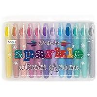 Sparkle Watercolor Gel Crayons - Set of 12