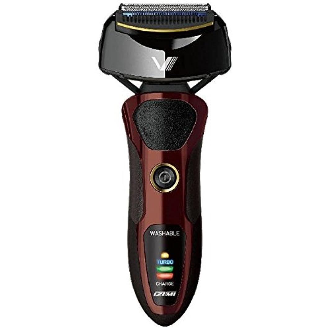 父方の受動的大事にするIZUMI VIDAN 往復式シェーバー 深剃りシリーズ 4枚刃 ブラウン IZF-V66-T