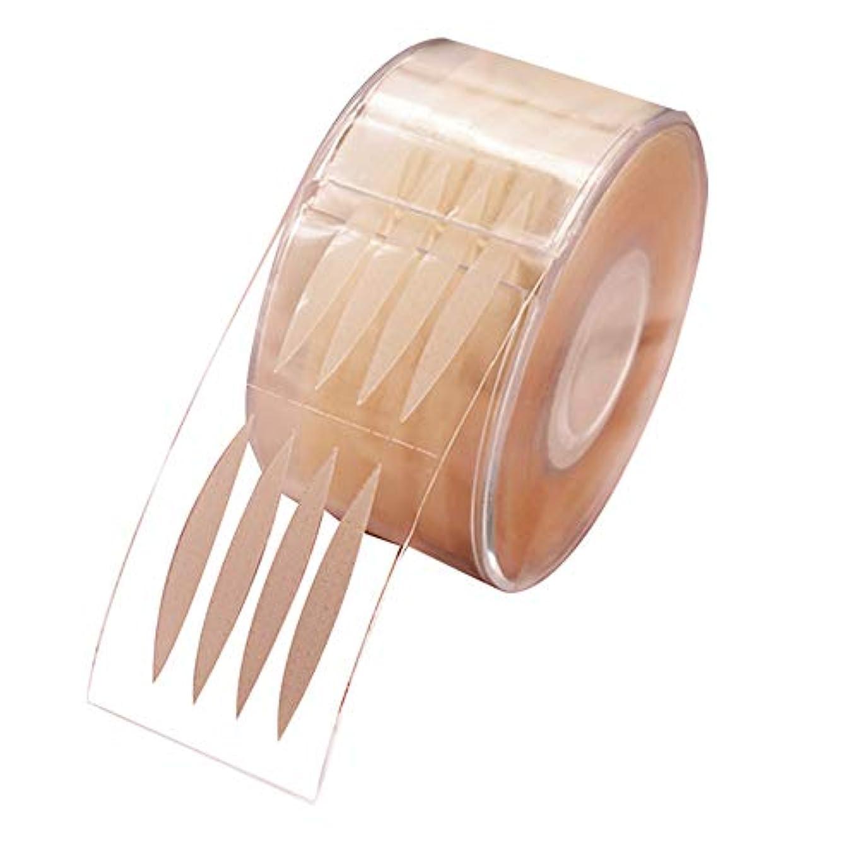感覚マイクロプロセッサ仕事Sunite まつ毛テープ 目に見えない 300組 繊維 二重まぶた レース メッシュ 粘着性なし ナチュラル 自然 (C)
