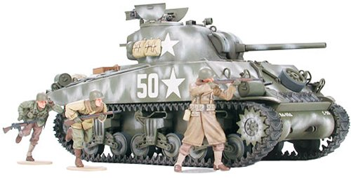 1/35 ミリタリーミニチュアシリーズ M4A3シャーマン(前線突破)