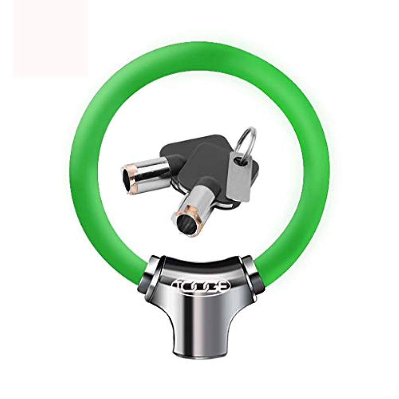 お手伝いさん本当に反発するYLIAN 自転車ロック バイクロックオートバイロックディスクロックリングロック亜鉛合金+ PVC小型およびポータブル (Color : D)