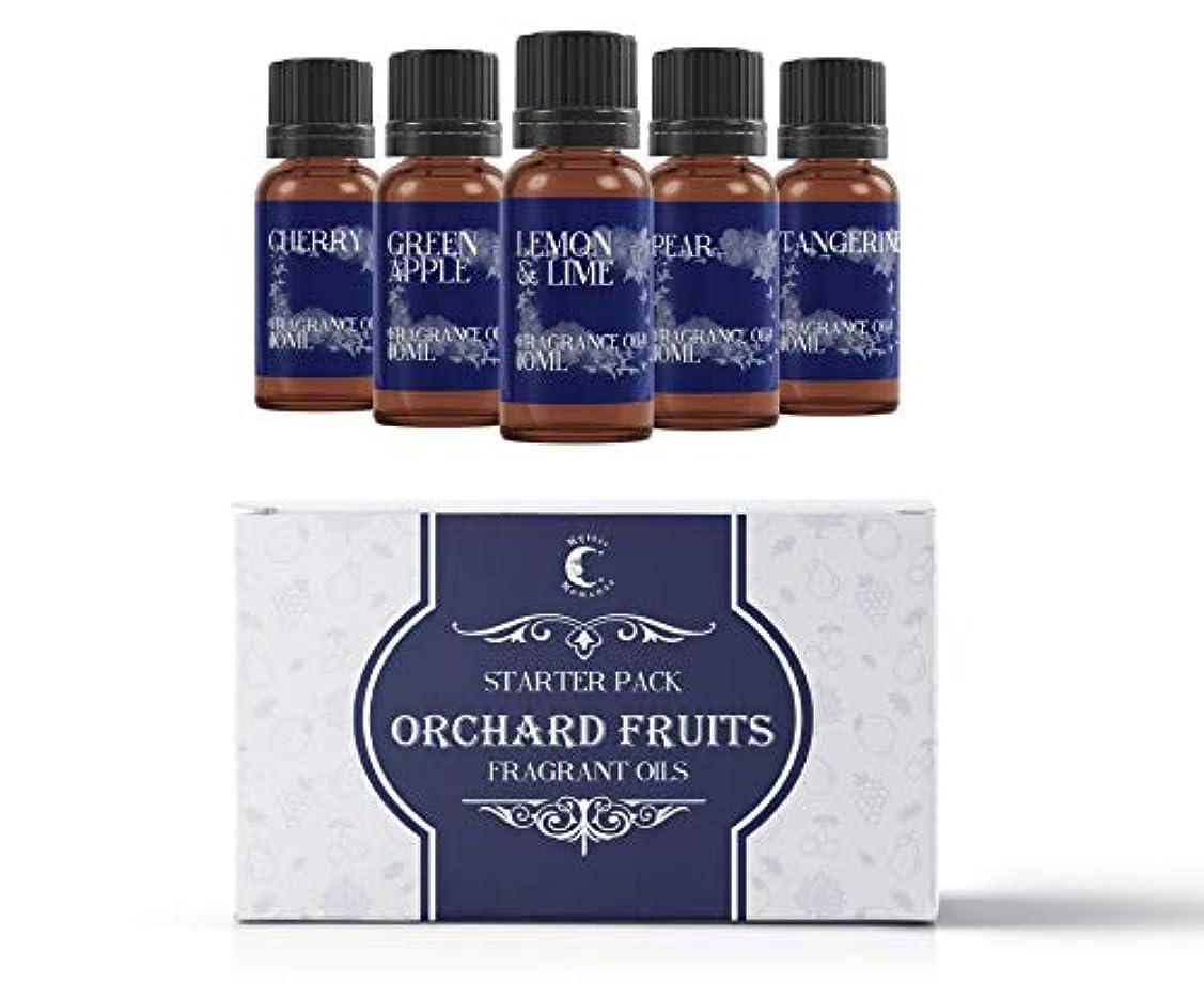 過激派ヤギ等Mystic Moments | Fragrant Oil Starter Pack - Orchard Fruits - 5 x 10ml