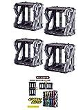 【4個セット】仮面ライダーセイバー DXライドブックホンダナー ※01AI開発録ワンダーライドブックは付属しません。