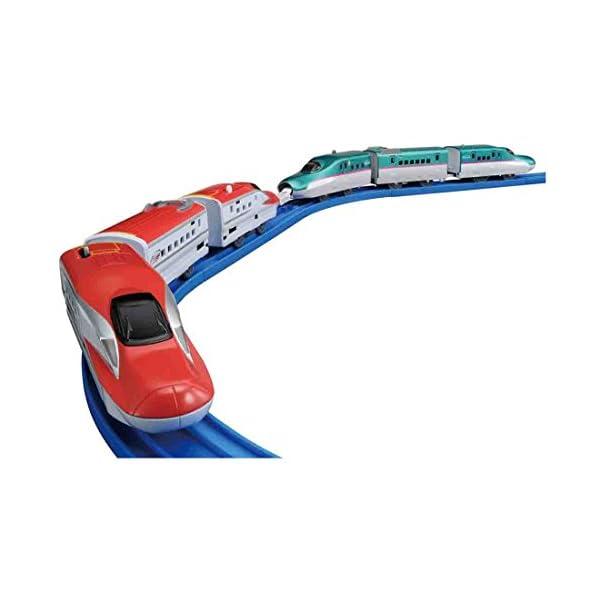 プラレール E5系新幹線&E6系新幹線連結セットの商品画像