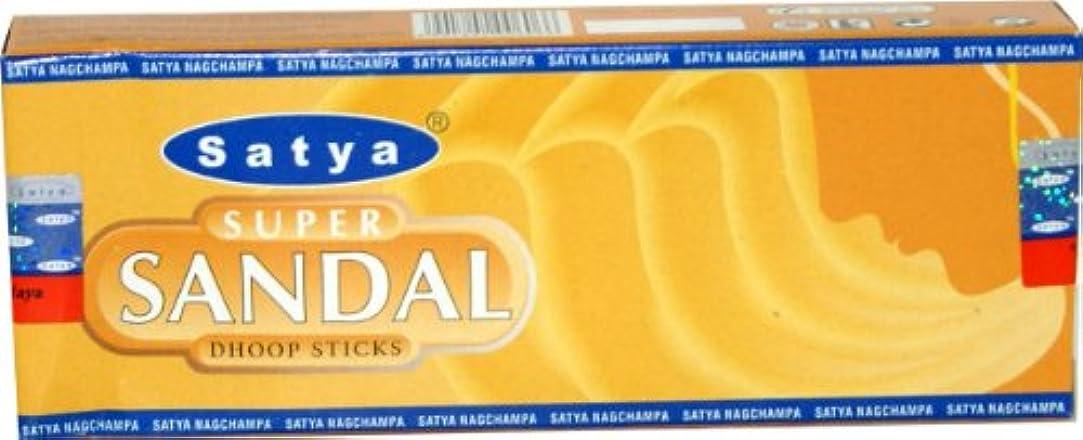 後継証明するデッキSatyaスーパーサンダルDhoop Sticks – 12 Sticks perボックス
