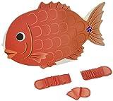 サンリオ 寄せ書き色紙 メロディ・型抜き 鯛にのし P91005