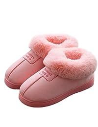 189fa1259c98cf ボア付き ルームシューズ レディース メンズ ルームブーツ 暖かい ホーム靴 室内履き 防寒対策 冬