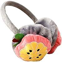 Lovely Earmuffs Plush Earmuff Warm Earmuffs for Kids Or Adults [Lemon]