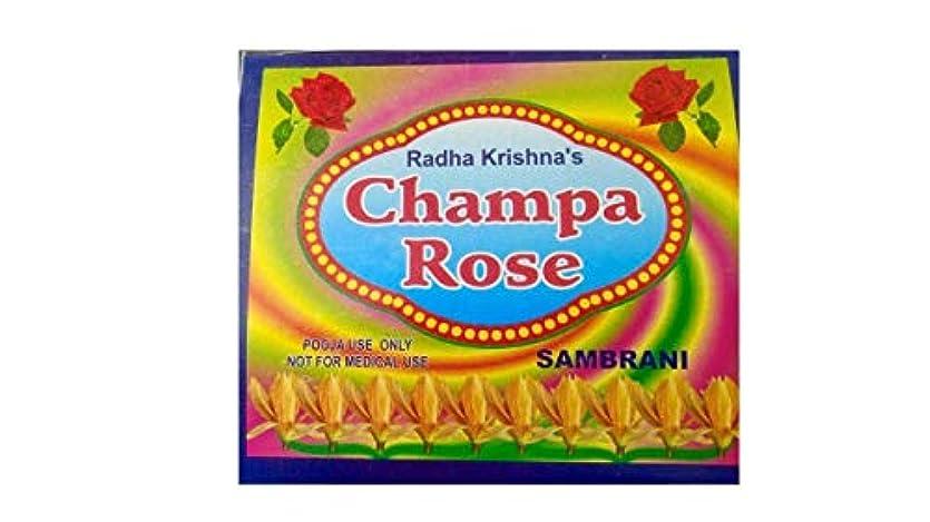 指導する構成水Radha Krishna Benzoin Champa Rose Dhoop(500 Grams)