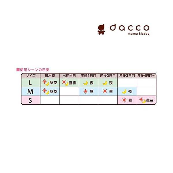 ダッコ dacco お産用パッド フィール f...の紹介画像6