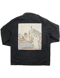SUPREME シュプリーム 18SS NY Tapestry Denim Chore Coa デニムジャケット 黒 L 並行輸入品