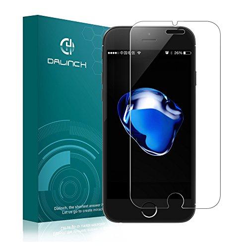 iphone 7 plusフィルム iphone 7 plus ガラスフィルム Dalinch iphone 7 plus 強化ガラスフィルム Apple iphone 7 plus 対応 2016 全てケースと干渉せず(強化ガラスフィルム1枚)