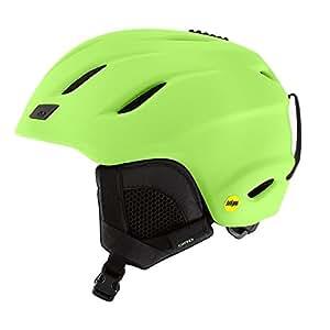 GIRO(ジロ)大人用 スキー スノーボード ヘルメット Asian Fit NINE MIPS Mat_Blue M