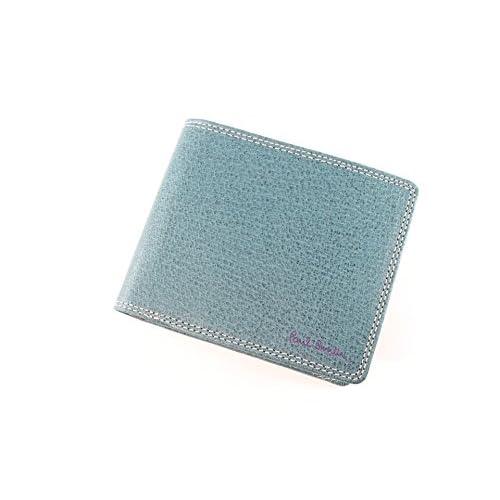 ポールスミス 財布 折り財布 メンズ ターコイズ pauls383
