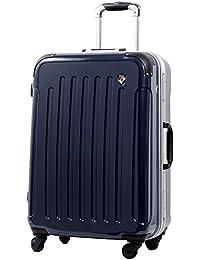 [グリフィンランド]_Griffinland TSAロック搭載 スーツケース 軽量 アルミフレーム ミラー加工 newPC7000 フレーム開閉式