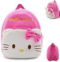 新しいかわいいPlush Hello Kittyミニバックパックfor Young学生Ages 3–5歳、汎用