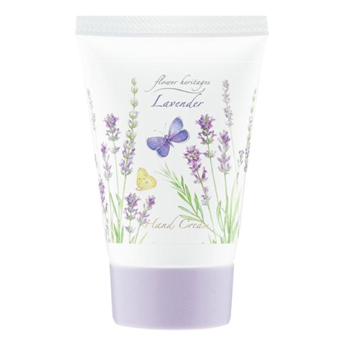 解任考えたストライプネイチャータッチ (Nature Touch) Flower Heritage ハンドクリーム40g/ラベンダー