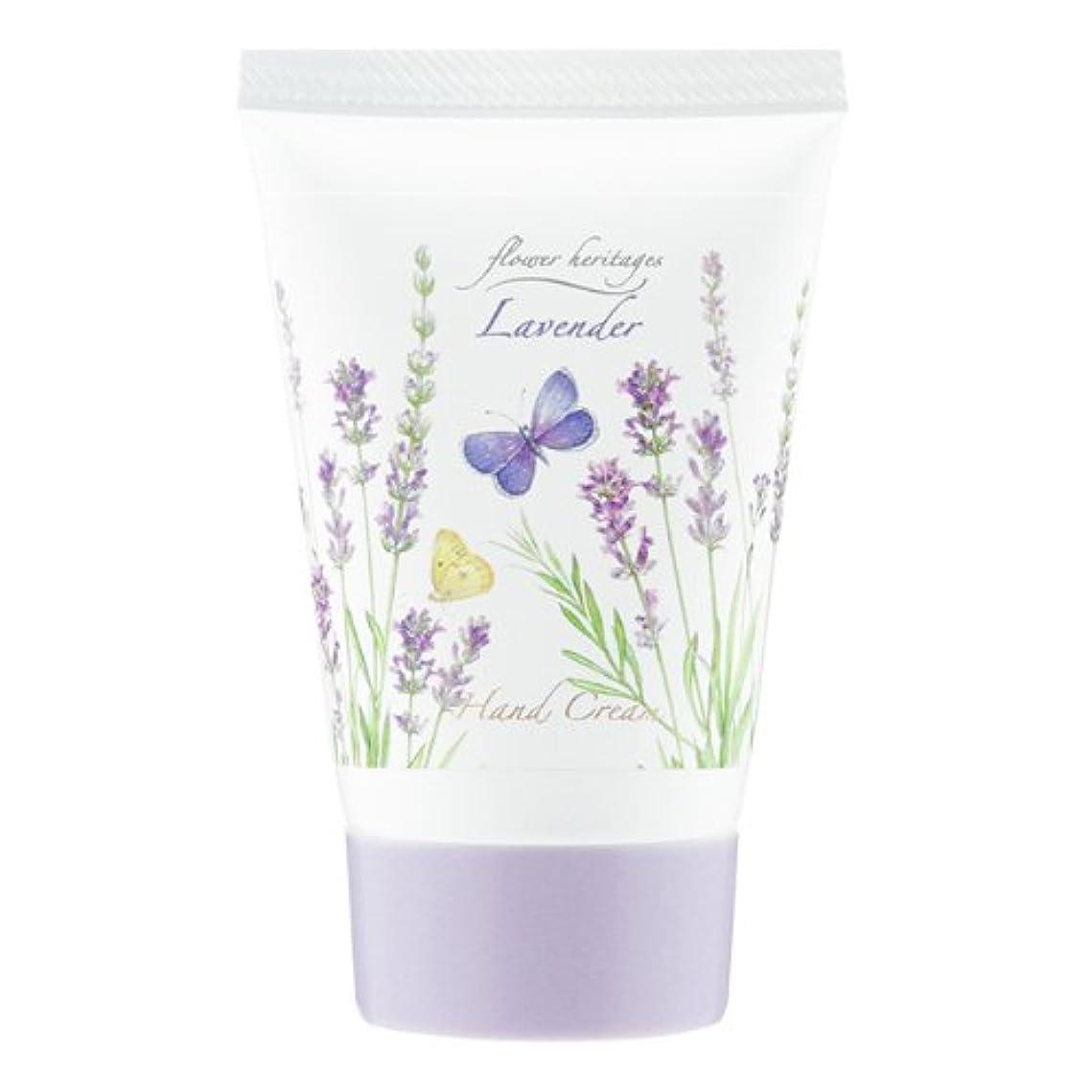 色ナラーバージャンプするネイチャータッチ (Nature Touch) Flower Heritage ハンドクリーム40g/ラベンダー