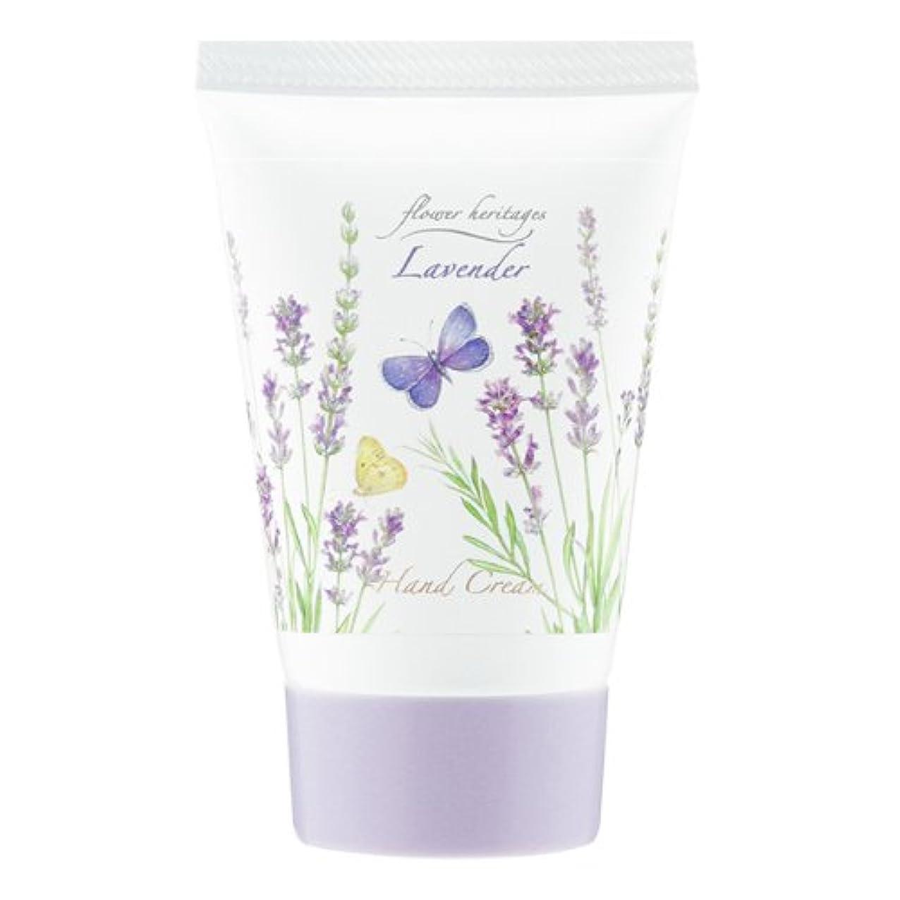 浴室学習者コンサートネイチャータッチ (Nature Touch) Flower Heritage ハンドクリーム40g/ラベンダー