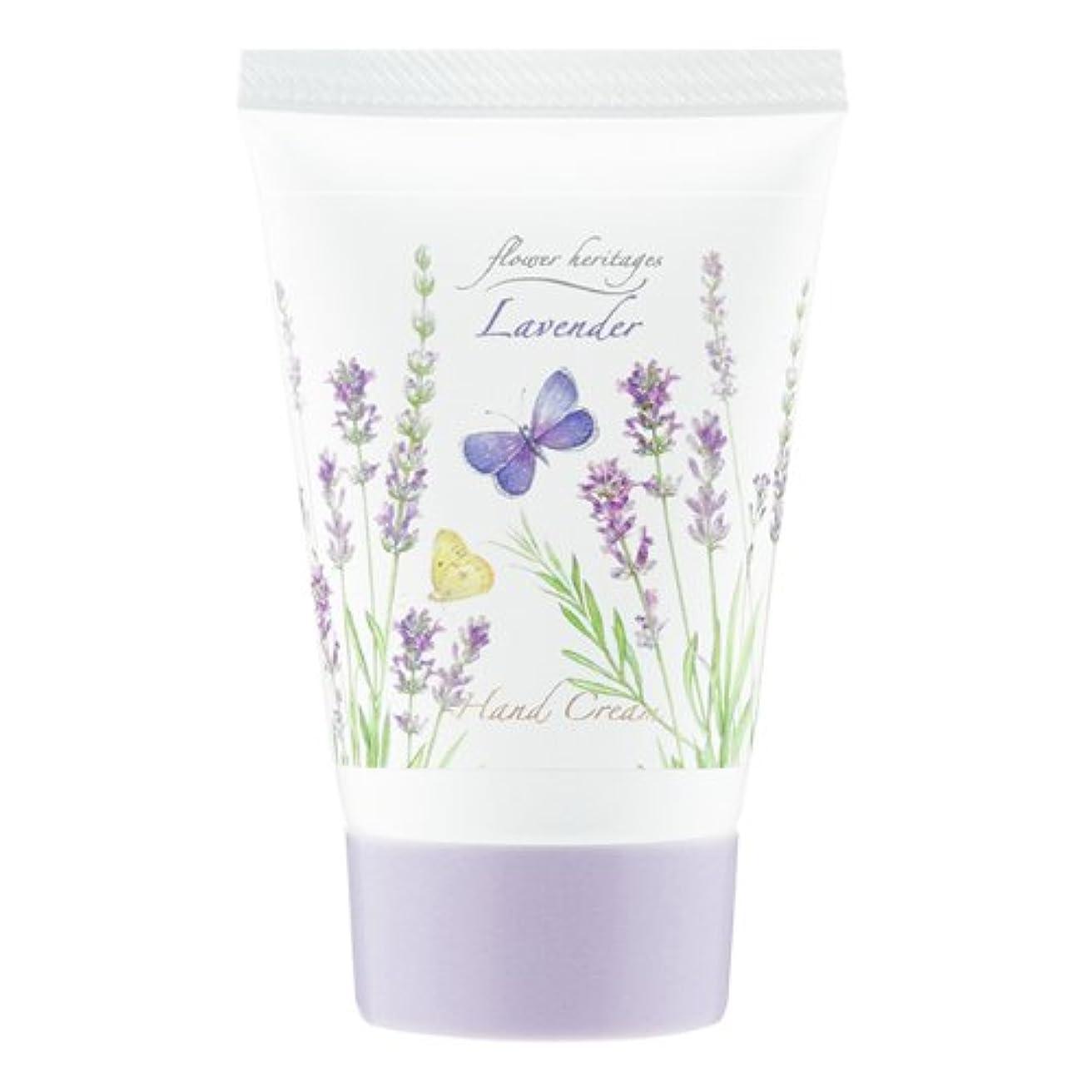 米ドル大きい人間ネイチャータッチ (Nature Touch) Flower Heritage ハンドクリーム40g/ラベンダー