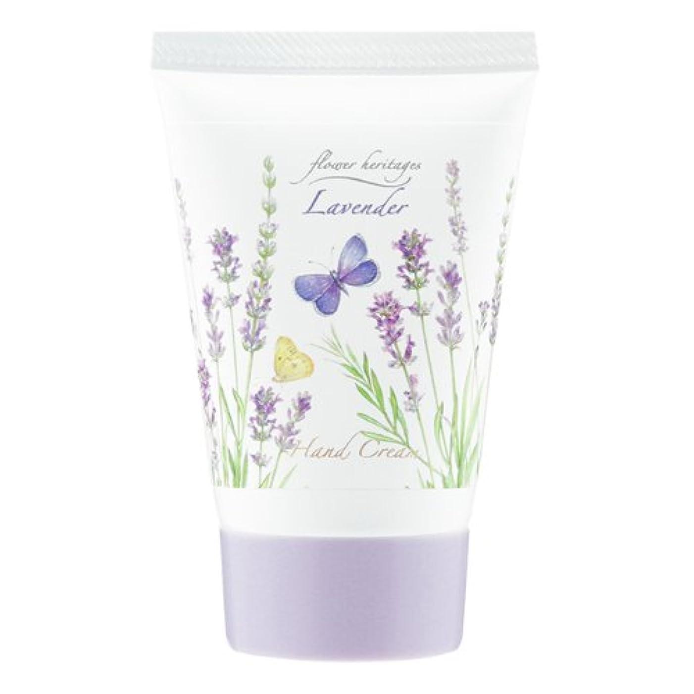条約ずんぐりしたブームネイチャータッチ (Nature Touch) Flower Heritage ハンドクリーム40g/ラベンダー