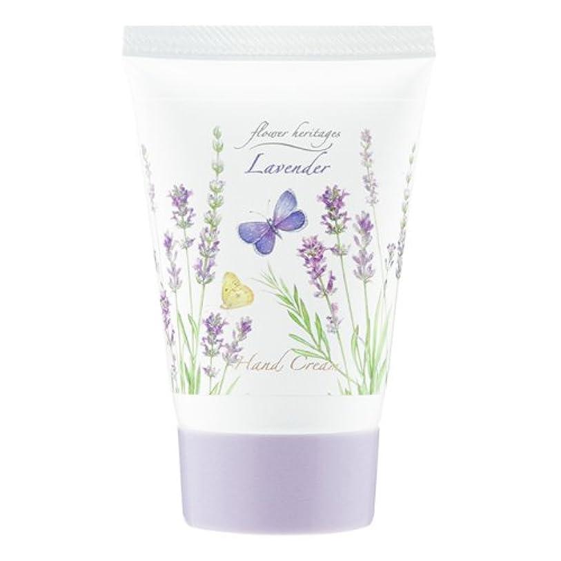供給バルブ誇張ネイチャータッチ (Nature Touch) Flower Heritage ハンドクリーム40g/ラベンダー