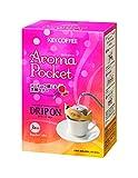 キーコーヒー DRIP ON (ドリップオン) Aroma Pocket (アロマポケット) コーヒーで感じる芳醇ベリー 1箱(3杯分)×6箱