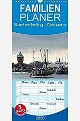 Nordseefeeling - Cuxhaven - Familienplaner hoch (Wandkalender 2020 , 21 cm x 45 cm, hoch): Fotoimpressionen der niedersaechsischen Stadt Cuxhaven an der Nordsee (Monatskalender, 14 Seiten ) カレンダー