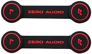 ZERO AUDIO ヘッドホンクリップ ブラック ZA-CLP-KR 2個入