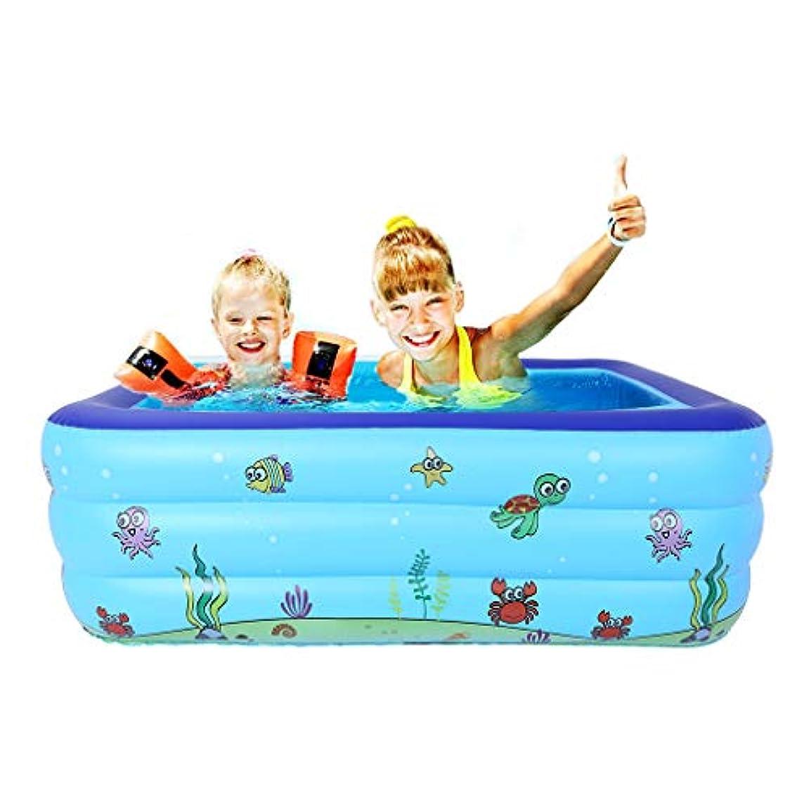 接地中絶栄光のDONGmeijes 大きな膨らませるスイミングプール キッズ水遊び 子供用 free 19
