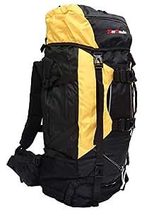 MerMonde (メルモンド) 登山 アウトドア 大型 リュック ザック バックパック 80L (イエロー)
