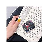 LPRD ワイヤレスBluetoothヘッドセットユニバーサルクリエイティブトレンドバスケットボールの流れブランド23 Airpods1 / 2保護カバーのワイヤレスバージョン (Color : Black)