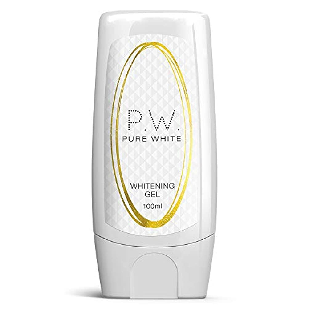 震える蒸神秘Pure White Whitening Gel ピュアホワイトホワイトニングジェルの美白は、肝斑PATCHES MAXの強度を停止します Pyuahowaitohowaitoningujeru no bihaku wa...