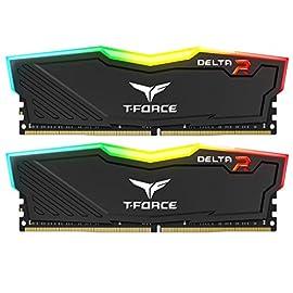 Team RGB(発光型) DDR4 3000Mhz(PC4-24000) 8GBx2枚(16GBkit) RGB DELTAシリーズ デスクトップ用メモリ ハイスピードタイプ 日本国内無期限保証