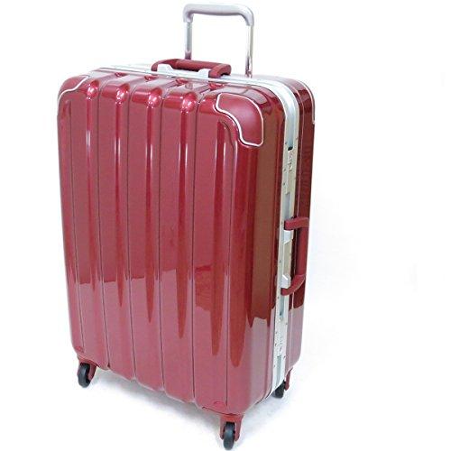 (シフレ グリーンワークス) siffler GREEN WORKS GRE1043-59 シフレ グリーンワークス スーツケース 日乃本キャスター 63L 4.4kg 3辺合計140cm (メタリックワイン)