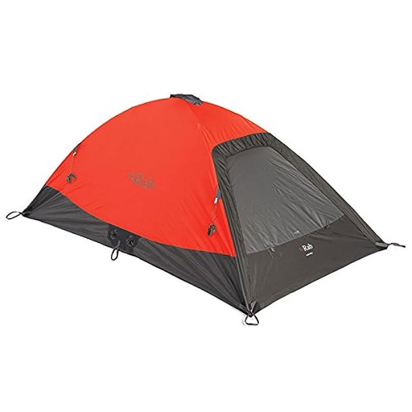 アルコーブ不快ロードされたRab(ラブ) テント ドーム型 シングルウォール インナーポール eVent [1~2人用] 1450g ラトク サミット MR-54-SO オレンジ
