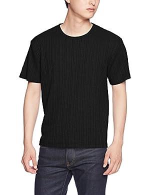 (アーケード) ARCADE ランダムテレコ ロングTシャツ メンズ 長袖 ロンT 半袖 カットソー Uネック